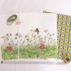 Kit créatif sac de rangement à coudre diy enfants