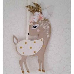 Veilleuse Renard pour décoration de chambre de fille