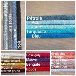 Nuancier de couleurs pour la laine