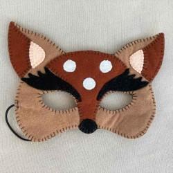 Masque de déguisement biche