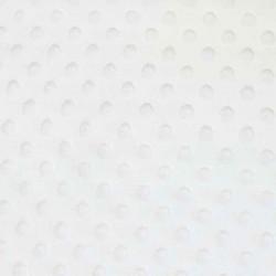 Intérieur minky blanc de la couverture mensuelle