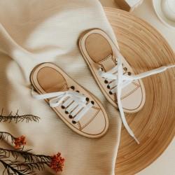 Jeu éducatif laçage des chaussures en bois