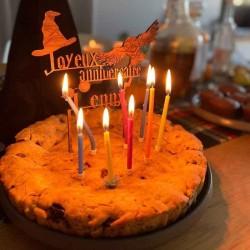 Cake topper personnalisé magie style Harry Potter